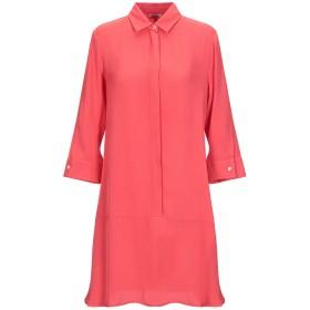 《セール開催中》HER SHIRT レディース ミニワンピース&ドレス レッド XS レーヨン 90% / シルク 10%