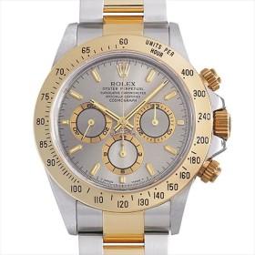 48回払いまで無金利 ロレックス コスモグラフ デイトナ 16523 グレー A番 中古 メンズ 腕時計