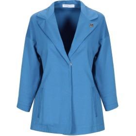 《期間限定 セール開催中》PARAKIAN レディース テーラードジャケット アジュールブルー 38 コットン 97% / ポリウレタン 3%