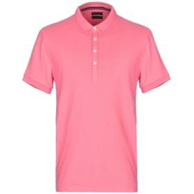 《期間限定セール開催中!》AT.P.CO メンズ ポロシャツ コーラル M コットン 95% / ポリウレタン 5%