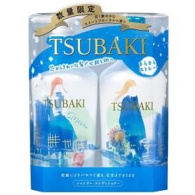 TSUBAKI(ツバキ)さらさらストレート 18-19ウィンター シャンプー&コンディショナー 各450ml ポンプセット 1個