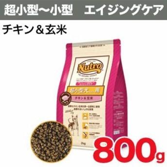 【ナチュラルチョイス】 超小型(4kg以下)エイジングケア チキン&玄米 800g