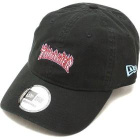 ニューエラ キャップ NEWERA スラッシャー ファイヤーパターン ロゴキャップ 9THIRTY THRASHER FIRE CAP アジャスタブル 帽子 ブラック  11781511 FW18