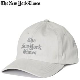 ニューヨークタイムズ The New York Times キャップ 帽子 メンズ スナップバック STACKED LOGO BALL CAP ホワイト
