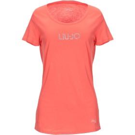 《期間限定セール開催中!》LIU JO レディース T シャツ オレンジ XS 100% コットン