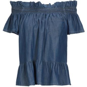 《セール開催中》ATOS LOMBARDINI レディース デニムシャツ ブルー 38 コットン 100%