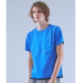 ABAHOUSE / アバハウス ストレッチ裏毛圧着Tシャツ