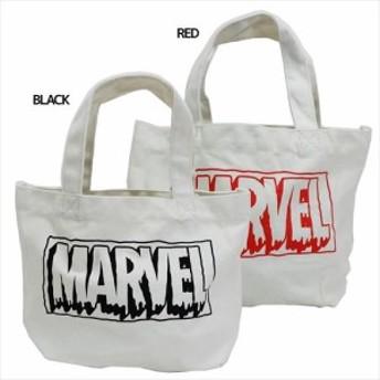 マーベル ランチバッグ ミニトートバッグ ロゴ お弁当鞄 キャラクター グッズ