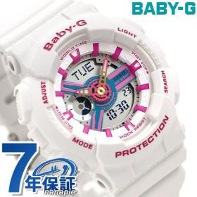 Baby-G レディース BA-110 腕時計 ホワイト BA-110NR-8ADR カシオ ベビーG
