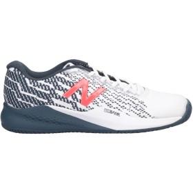 《期間限定セール開催中!》NEW BALANCE メンズ スニーカー&テニスシューズ(ローカット) ホワイト 9 紡績繊維