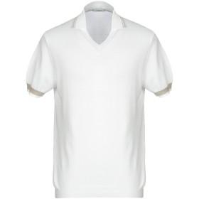 《期間限定セール開催中!》PAOLO PECORA メンズ プルオーバー ホワイト XXL コットン 100%