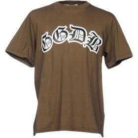 《期間限定 セール開催中》GOLDEN GOOSE DELUXE BRAND メンズ T シャツ ブラウン XS 100% コットン
