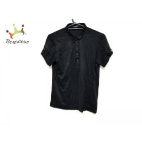 バーバリーロンドン Burberry LONDON 半袖ポロシャツ サイズ1 S レディース 美品 黒  スペシャル特価 20190731
