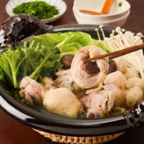 【送料無料】「博多華味鳥 水たきセット」鍋セット  鶏 ちゃんぽん お取り寄せ グルメ