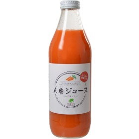 イー・有機生活 にんじんジュース(りんご入り) (1000mL)
