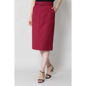 BOSCH / [ウォッシャブル]ベルテッドポケットタイトスカート
