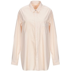 《送料無料》POMANDRE レディース シャツ サンド 44 コットン 100%