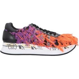 《送料無料》PREMIATA レディース スニーカー&テニスシューズ(ローカット) オレンジ 35 革 / 紡績繊維