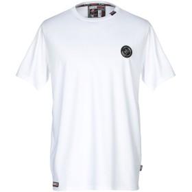 《期間限定セール開催中!》PLEIN SPORT メンズ T シャツ ホワイト S ポリエステル 100%