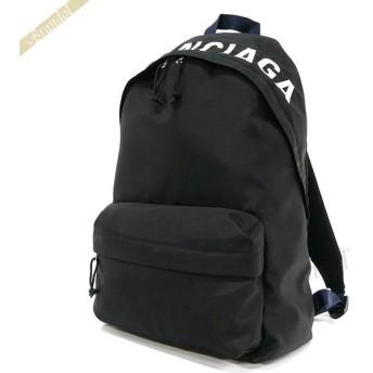 バレンシアガ Balenciaga レディース リュック ロゴ WHEEL バックパック ブラック 525162 9F91X 1090 [在庫品]