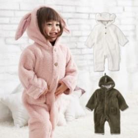 【ベビー】【moc mof】アニマル着ぐるみジャンプスーツ【防寒 あったか 赤ちゃん ベビー服 男の子 女の子 オールインワン】 mam_r