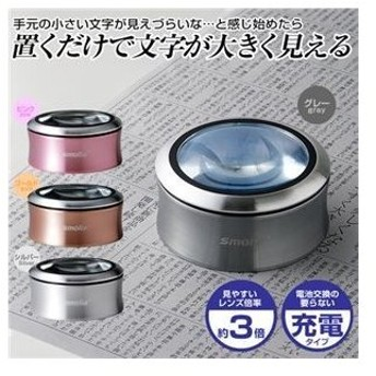 ds-2105213 スリーアールソリューション LED拡大鏡smoliaXC 3R-SMOLIA-XCGY (ds2105213)