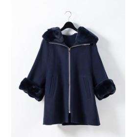 GRACE CONTINENTAL / グレースコンチネンタル レッキスファー衿ケープ
