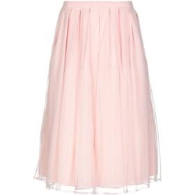 《期間限定 セール開催中》RUE8ISQUIT レディース 7分丈スカート ピンク 40 ポリエステル 100%