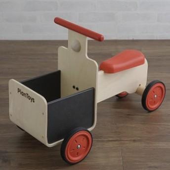 PLAN TOYS(プラントイ) デリバリーバイク バイク 乗用玩具 乗り物 車 おままごと