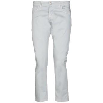 《期間限定セール開催中!》ENTRE AMIS メンズ パンツ ライトグレー 35 コットン 97% / ポリウレタン 3%
