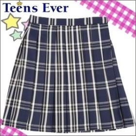 18747c428f02d Teens Ever スクール スカート 制服 学生服 学校 学生 入学式 卒業式 女子 紺 白
