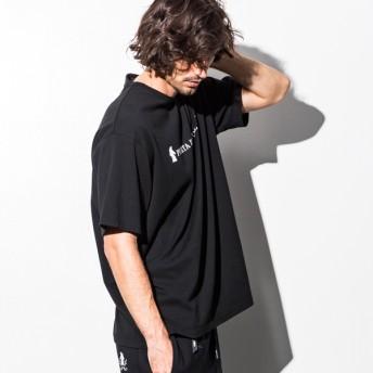 Tシャツ - SHIFFON PUERTA DEL SOL(プエルタデルソル) フロントロゴTシャツ(ブラック)