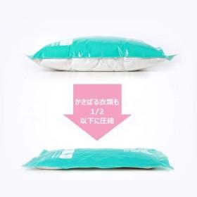 LATTCURE 圧縮袋 旅行 衣類 衣類圧縮袋 手巻き 旅行用圧縮袋 掃除機不要 スペース節約 10枚セット 旅行/出張/引っ越し用 収納
