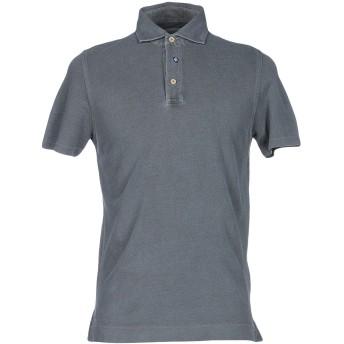 《期間限定セール開催中!》HERITAGE メンズ ポロシャツ 鉛色 46 100% コットン