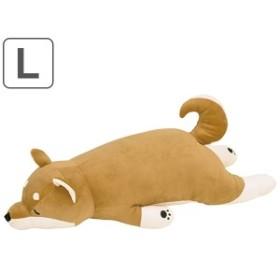 抱き枕 ぬいぐるみ 犬 プレミアムねむねむアニマルズ コタロウ Lサイズ ( 抱きまくら 動物 イヌ プレミアム 枕 まくら クッション もち
