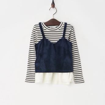 SLAP SLIP キャミ+Tシャツ 180288007 コン キッズ・ベビーファッション サイズ:100cm