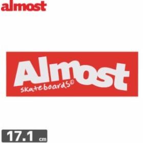 ALMOST オルモスト ステッカー BOX LOGO 5.8cm x 17.1cm NO102