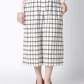 【大きいサイズレディース】【L-3L】ゆったりサイズ!美ラインウエストゴムガウチョパンツ パンツ ワイドパンツ