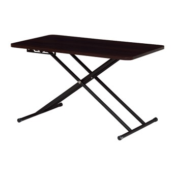 THREE-I リフティングテーブル 幅約90cm KT3181DBR テーブル・デスク