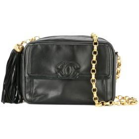 Chanel Pre-Owned タッセル ショルダーバッグ - ブラック