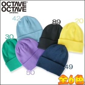 OCTAVEOCTAVE オクターブオクターブ カラーワッチキャップ 17309600