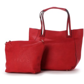 アンドプラス&plus【STORY掲載】スキマハンドル裏地付2WAYバッグ(RED)