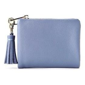 HUMAN WOMAN / ヒューマンウーマン [一部カラーWEB限定]レザー二つ折り財布