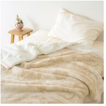 全品P5倍★毛布 ダブル 2枚合わせ 東京西川 西川産業 ブランケット アクリル毛布 ダブルサイズ 西川 送料無料