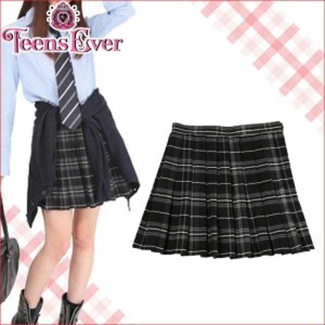 5ac426692ed2f Teens Ever プリーツスカート 制服 学生服 入学式 卒業式 ボトムス 女子 レディース