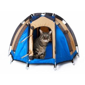 ドデカヒードロン テント ペット用テント キャットハウス ドックハウス ミニチュアテント / ペット用品 / ミニテント / 室内用