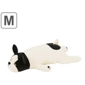 抱き枕 ぬいぐるみ 犬 プレミアムねむねむアニマルズ ブブル Mサイズ ( 抱きまくら 動物 イヌ プレミアム 枕 まくら クッション もちも