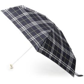 Dessin / デッサン 千鳥ミックスチェック ミニ傘
