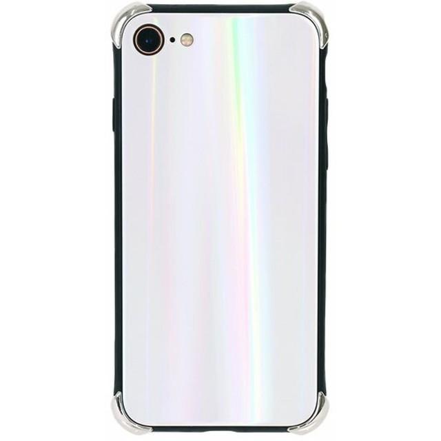 7257ab491d スマホケース - LUPIS ホワイトオーロラiPhone用ケース【iPhone7・iPhone8 iPhoneX スマホケース スマホカバー  アイフォン