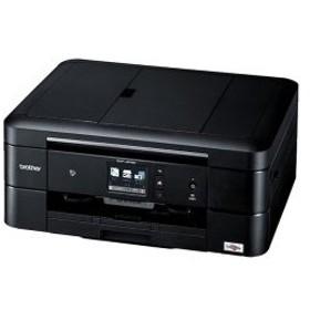 ブラザー工業 A4インクジェット複合機/黒モデル/ADF/有線・無線LAN/手差しトレイ/両面印刷/レーベル印刷 DCP-J978N-B (送料無料)
